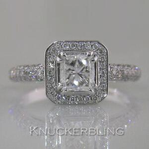 Diamond-Ring-Certificated-1-70ct-D-VVS2-Exc-Princess-Cut-18ct-White-Gold