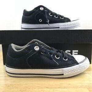 cc2a62c15ab Converse Chuck Taylor CT High Street Slip All Star Black Junior Kids ...