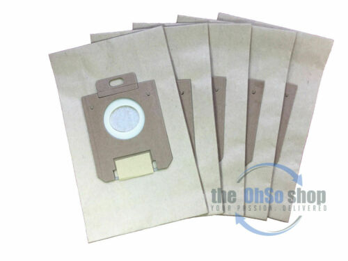 5 x Electrolux Bags E15 Clario Z1943 E200 /& E200B Type Z1948 E18 Z1955 E40