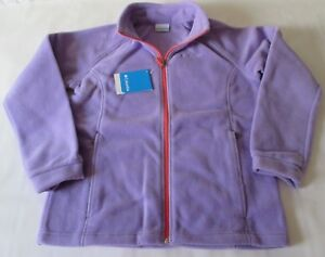 a58903b37841 Columbia Three Lakes Fleece Jacket Girl s Size XL 18 20 Purple Brand ...