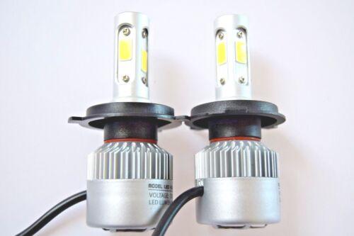Nissan Micra 1992-2017 PHARE 2x H4 kit de voiture Ampoules à DEL Blanc pur