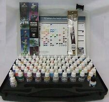 Av Vallejo Modelo Color combinaciones de colores básicos Box Set 72 Colores + 3 Cepillos
