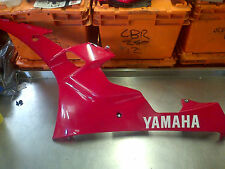 YAMAHA YZF R6 2CO LEFT FAIRING PANEL PLASTIC LOWER BELLY PAN