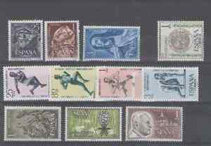 SPAIN-ESPANA-YEAR-1962-COMPLETE-MNH-SETS