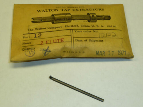 Walton #12 Tap Extractor REPLACEMENT FINGERS 12122