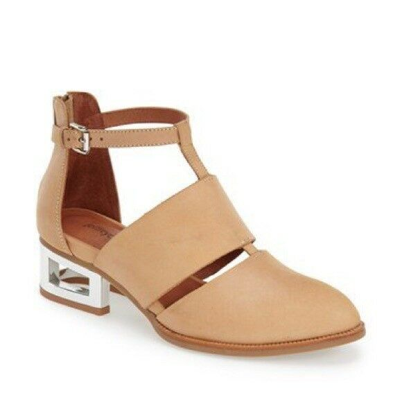 Jeffrey Campbell choque patente botas Mujer size 6 m patente choque Lug Sole Lace - up nuevo en caja ea6460