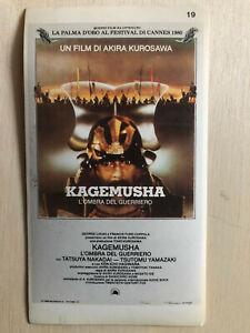 Intelligent Poster Plakat Sticker 1980 Akira Kurosawa Kagemusha L'ombre Del Guerriero Aufkleber & Sticker Film-fanartikel