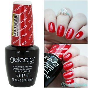 Image Is Loading Opi Soak Off Gelcolor Red Le Gc
