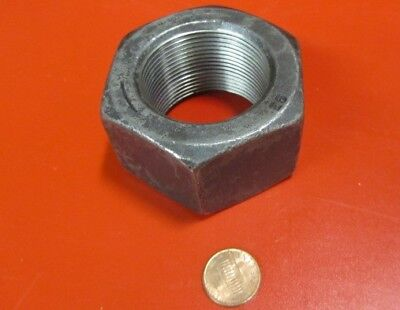 "3 Pc Grade 2 Steel Heavy Wide Hex Nuts RH 1 1//2/""-6 x 2 3//8/"" W x 1 15//32/"" H"