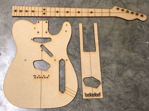 Classic Telecaster Luthier Routing//Building Templates