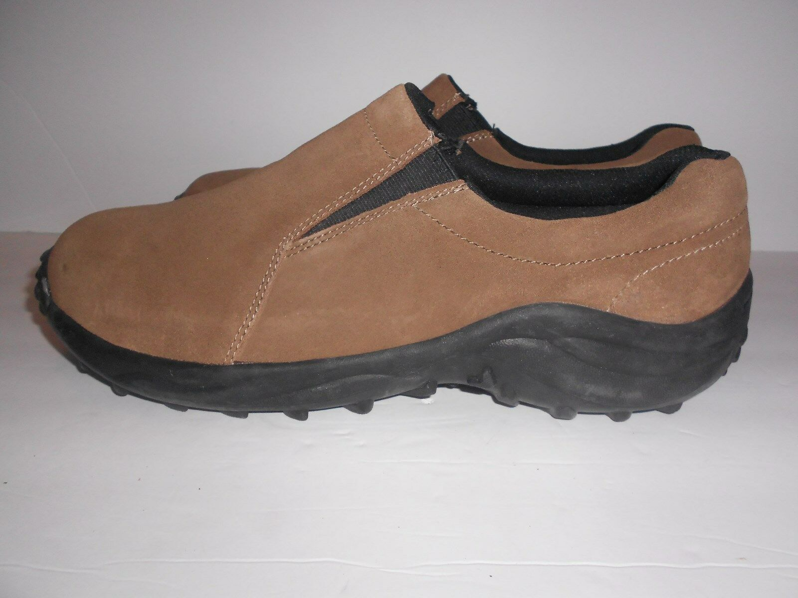 Stone Creek Slip on Brown Suede Mens Clean Shoes Sz. 12 - Clean Mens and Comfortable! 9963b8