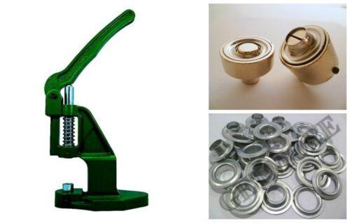plane 100 ojales 10mm acero galvanizado etc. herramienta según DIN 7332 F Ojales de prensa