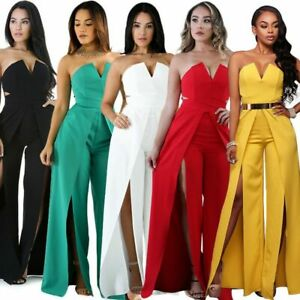Party-Clubwear-Pants-Casual-Ladies-Playsuit-Sexy-Jumpsuits-Womens-Bodysuit