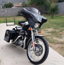 BATWING FAIRING WINDSHIELD 4 HARLEY SPORTSTER BAGGER  SUPER LOW 1200 883 +COVER