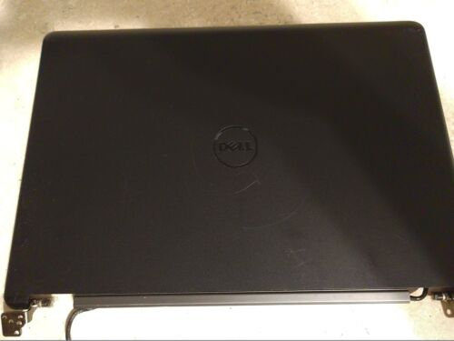 RB01 RB03 DELL LATITUDE E5450 LCD BACK COVER WITH HINGES JX8MW 0JX8MW GRADE B