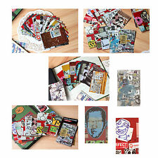 100PCS Graffiti Poster Pattern Film Sticker For FujiFilm Instax Mini 8 7s 25 50s