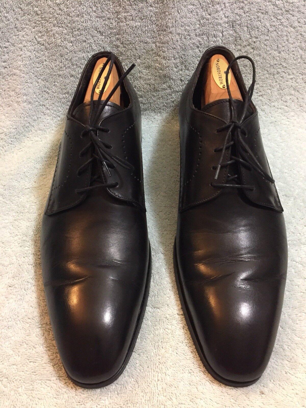 BOCAGE Blake ovinos Oxford Para hombres Zapatos Talla  US 12 Made in