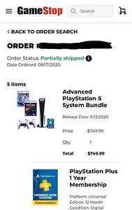 PS5 Disc Starter Bundle GAMESTOP CONFIRMED | eBay