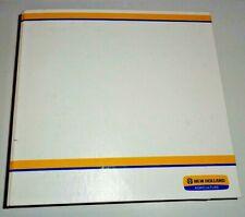 New Holland Tn95va Tractor Parts Catalog Manual Book Amp Nh Binder Original 205