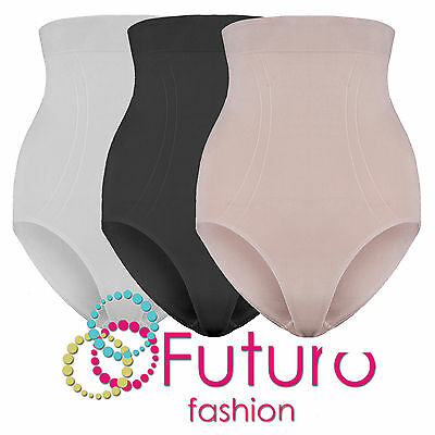 Ladies High Waisted Control Pants Shaping Slimming Underwear Sizes S - XL FG3022