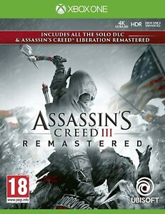 Assassin-039-s-Creed-3-Remastered-amp-Liberation-Remaster-For-Xbox-One-New-amp-Sealed