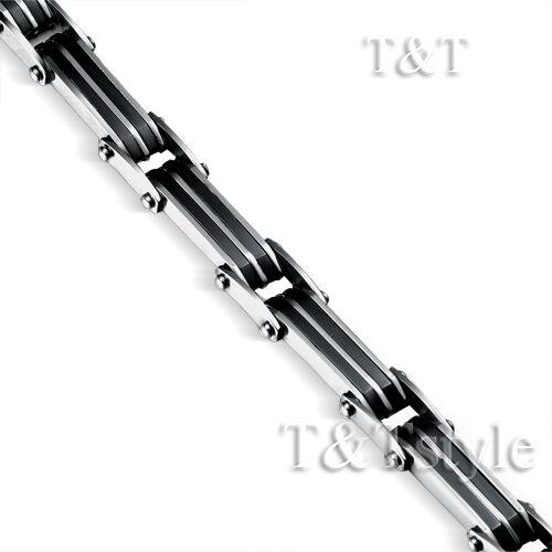ELEGANT T/&T 316L Solid Stainless Steel Bracelet BBR120