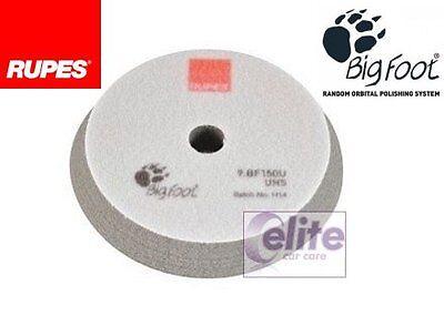 Rupes Bigfoot 150mm Grey UHS Foam Medium Polishing Pad - PACK OF FOUR