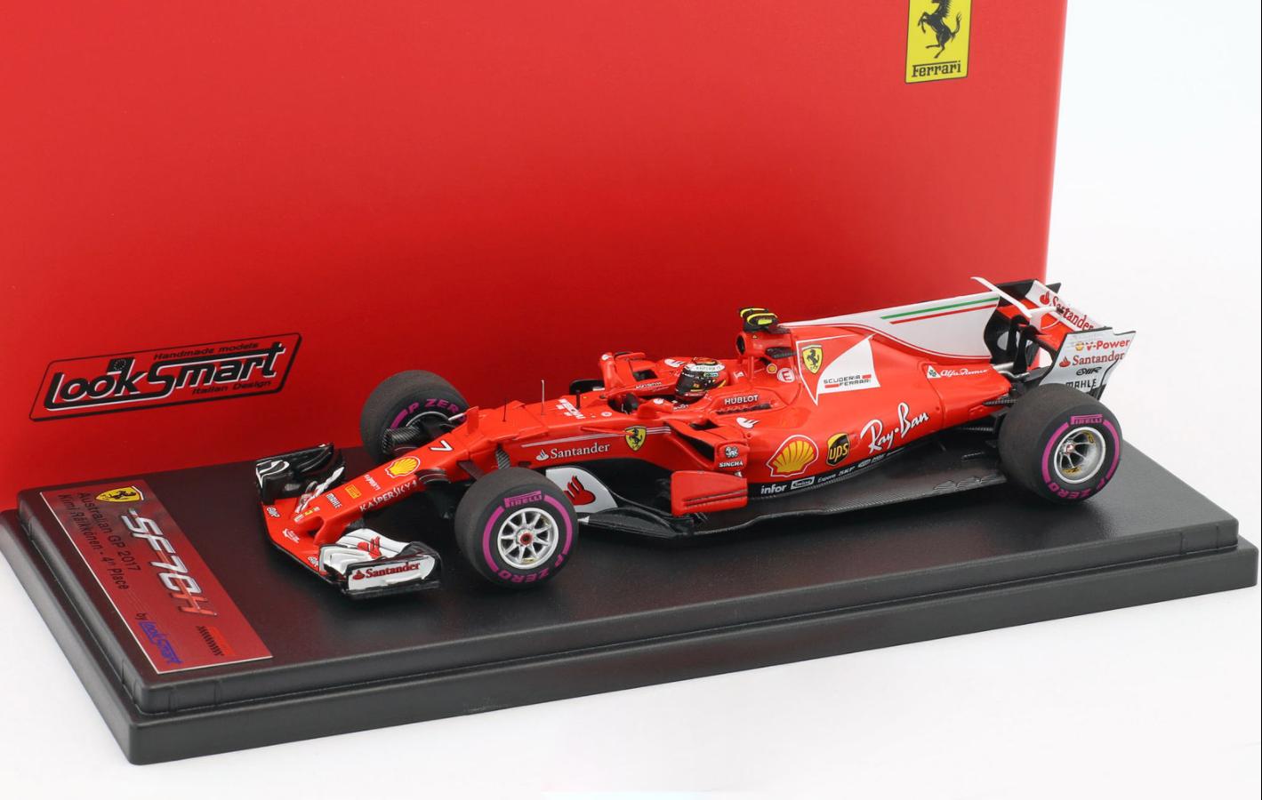 Ferrari SF70-H  GP Australia 2017 K.Raikkonen 1 43 LSF108 LOOKSMART