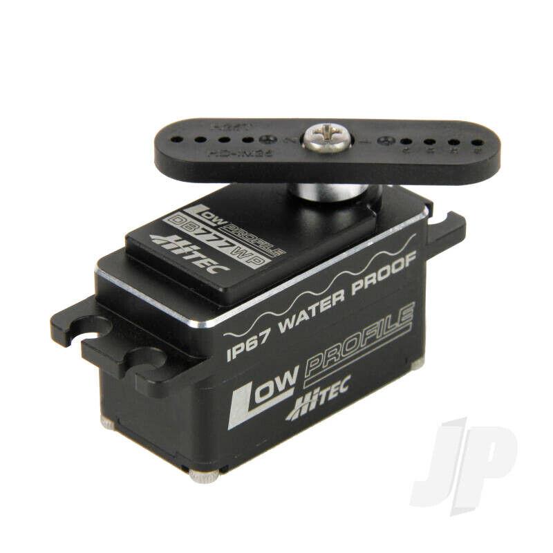 Hitec DB777WP BLDC bajo perfil WP Servo