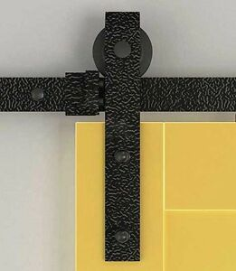 244cm rouchschwarz holz schiebet ren beschl ge antike schiebet r alten beschlag ebay. Black Bedroom Furniture Sets. Home Design Ideas