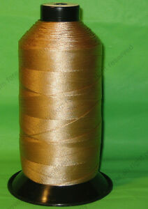 Beige Bonded Nylon sewing Thread #277 t270 Upholstery canvas leather 800yds