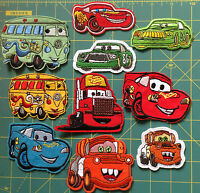 Small Embroidered sew Iron On Patch CARS PIXAR Disney