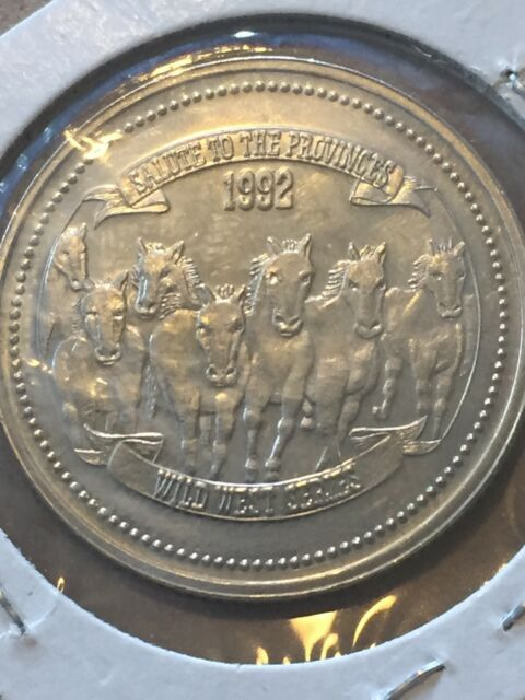 Token Canada Calgary Stampede Souvenir Dollar 1992 Coin Collectable P17