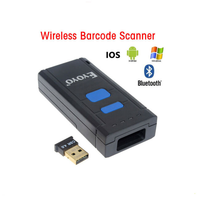 US Mj2877 Wireless Bluetooth 4 0 USB Laser Barcode Scanner Reader for PC  IOS B01