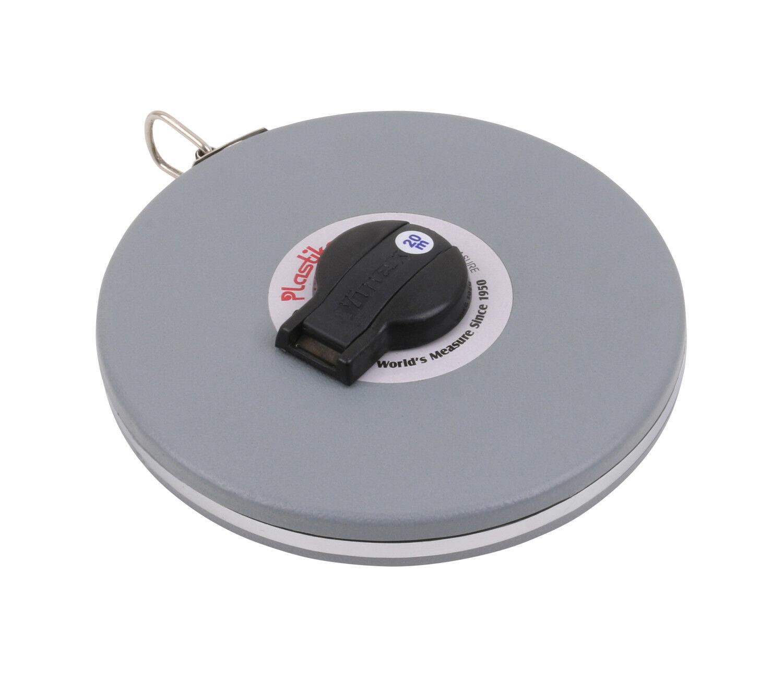Cinta métrica caja - fibra de vidrio - caja métrica cerrada - 10 m 20 m 30 m 50 m 100 m 0832f4