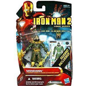 Iron Man 2 Comic Series 4 Inch Action Figure  39 Mandarin  | Angemessener Preis