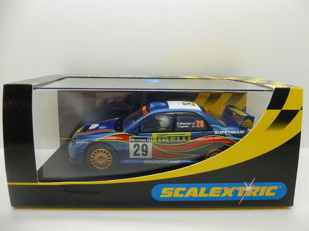 Scalextric C2414 Sabaru Impreze WRC Pirelli  No29 , mint boxed unused