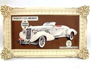 1935 Auburn 851 Speedster Walker's 8 DeLuxe Bourbon 3D Advertising Sales Picture