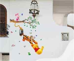 Winnie the pooh adhesivos de pared cuarto del beb ni os - Habitacion winnie the pooh ...