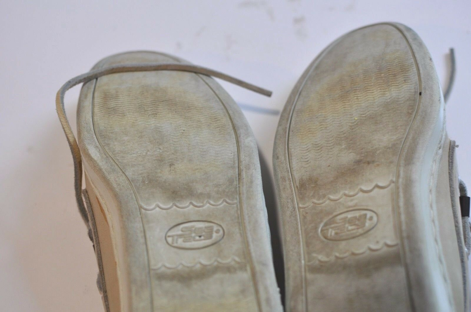 Vintage London Mar traCs By London Vintage Fog zapatos  Náuticos Cuero Para Mujer M 660f56