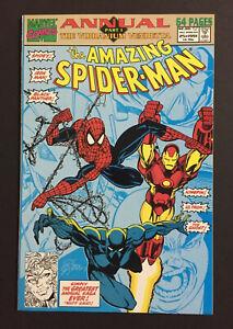 The Amazing Spider-Man Annual #25 1991 Comic Book The Vibranium Vendetta Ghost