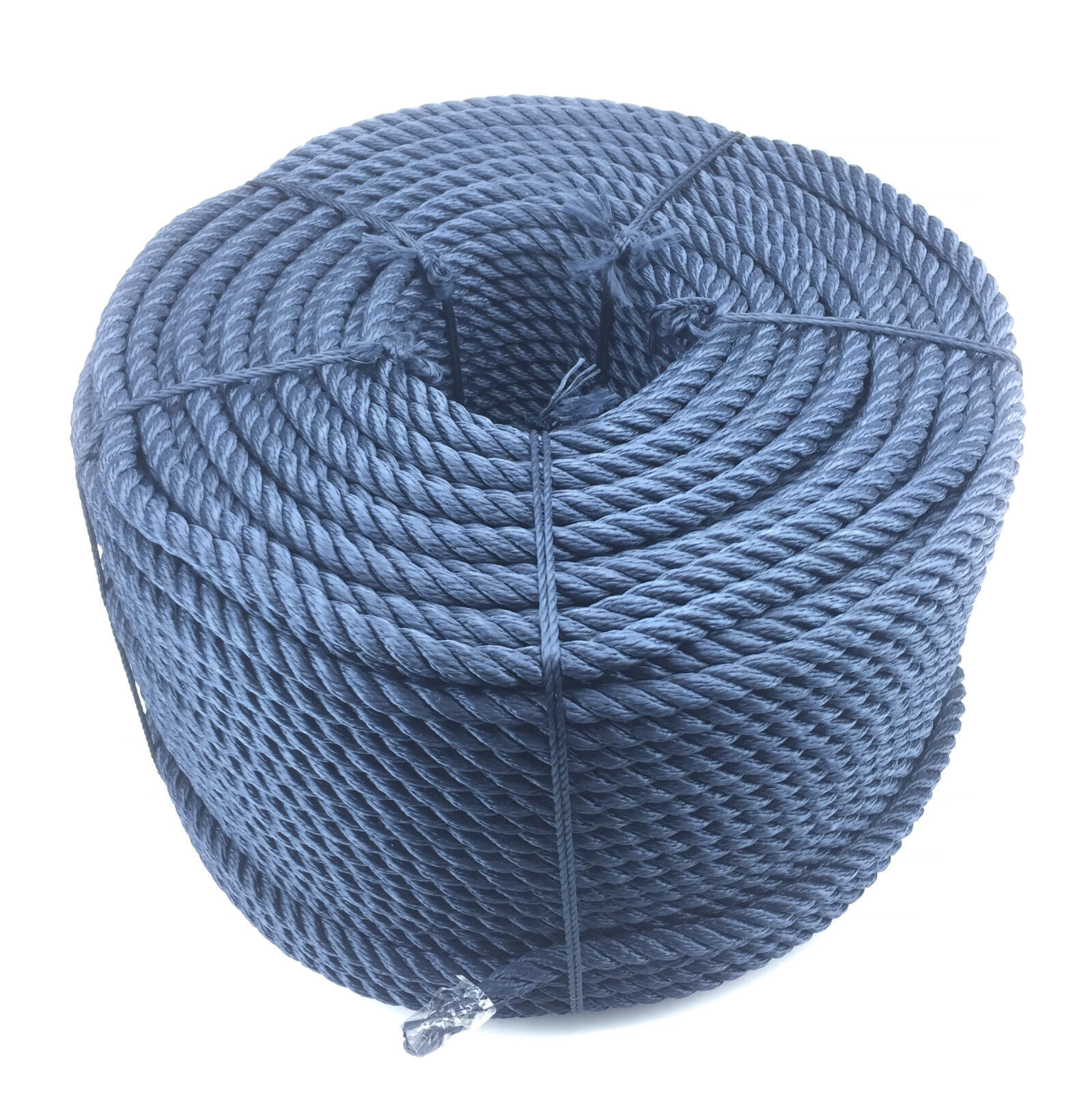 24mm Navy bluee 3 Strand Multifilament x 20 Metres (Floating Rope) Softline Rope