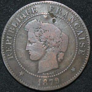 1879-A-France-5-Centime-039-Anchor-Mint-039-Coins-KM-Coins