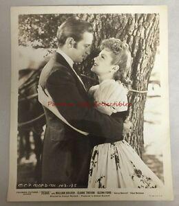 Original Movie Still Photo 1941 William Holden Texas Columbia Picture 103-125