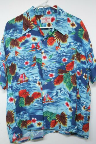 VINTAGE 50s 60s HAWAIIAN HOLIDAY WAIKIKI SURF MEN