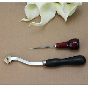 leather awl tool pin punch Sewing Machine blanket wheel / crimping wheel