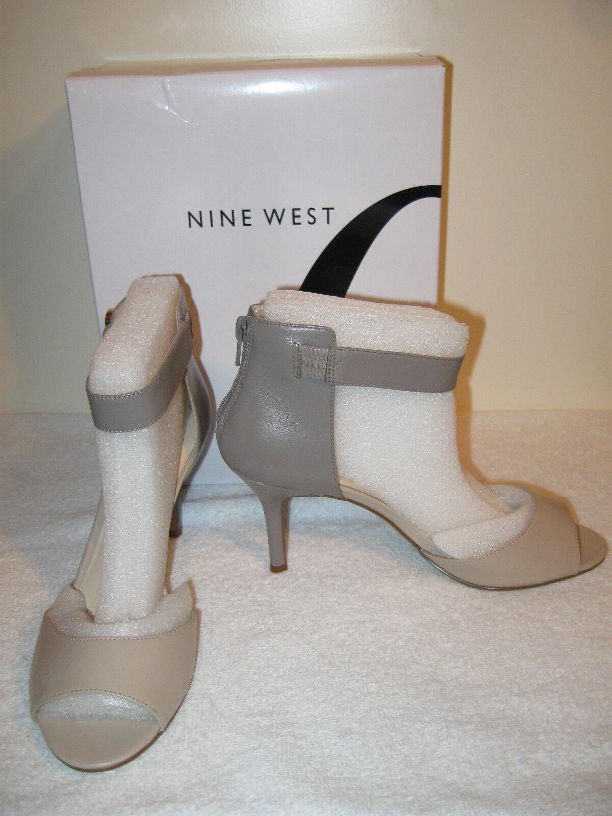 Damenschuhe Nine West Graby Sandale 8.5M NIB Gray and Tan 3