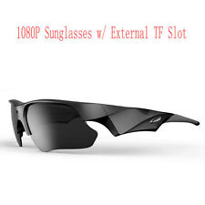 High Quality Polarized lens HD 1080P Sunglasses Glasses Camera 65 Degree New