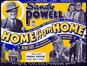 HOME-FROM-HOME-1939-Sandy-Powell-Rene-Ray-Kathleen-Harrison-TRADE-ADVERT