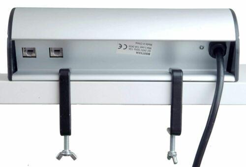 1x RJ45 1 x HDMI-Blanc Desktop Power UK 2 prises USB 2x Chargeur